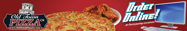 Click Here to Order Online from Old Town Pizza